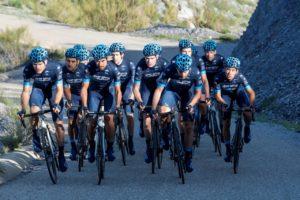 Team Novo Nordisk alla Milano-Sanremo 2019