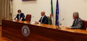 da sinistra Sileri, Borghi, Arosio